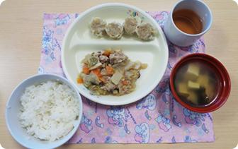 食事のメニュー